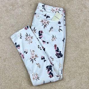 Lucky Brand Lolita Capri floral print